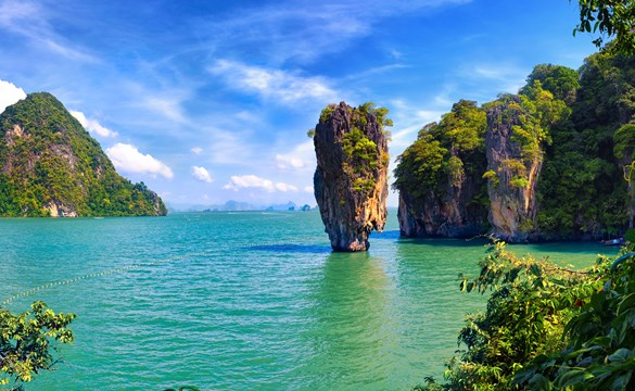 Sea Canoeing in Phang Nga Bay from £83 per person